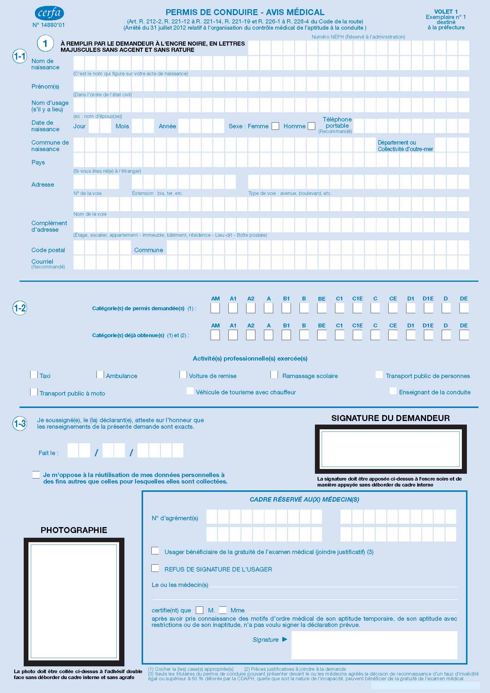 Formulaires administratifs et cerfa for Formulaire cerfa demande de permis de construire
